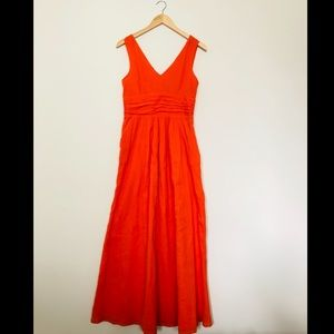 Anthropologie Edme & Esyllte Dress w/Pockets Sz 12